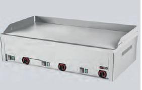 Grilovací deska elektrická FTHC-90E HLADKÁ,CHROMOVANÁ, FTHC90E , FTHC 90 E