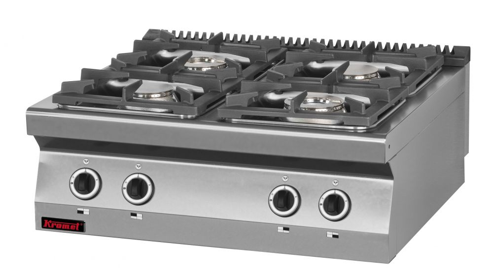 Plynový sporák KROMET 700.KG-4 / hořáků 4