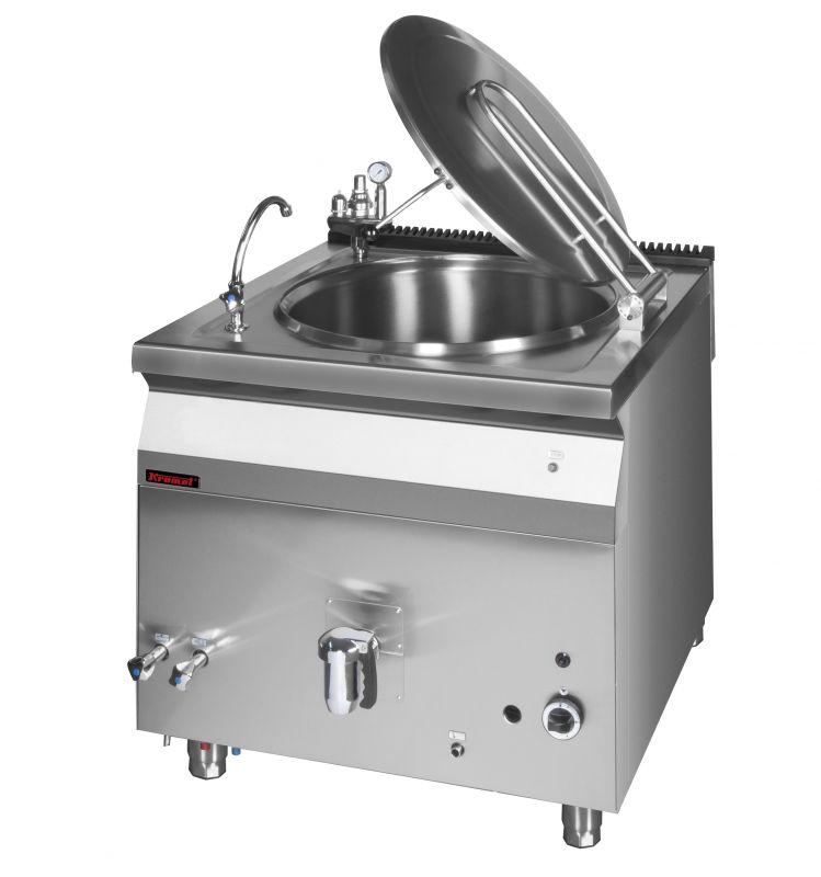 Plynový varný kotel KROMET 700.BGK-80 / nepřímý ohřev - 80 ltr