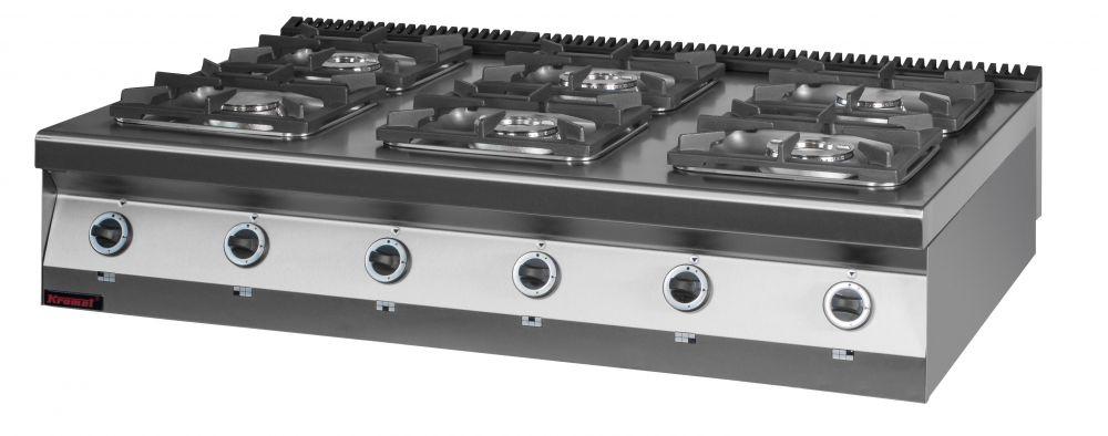 Plynový sporák KROMET 900.KG-6 / hořáků 6