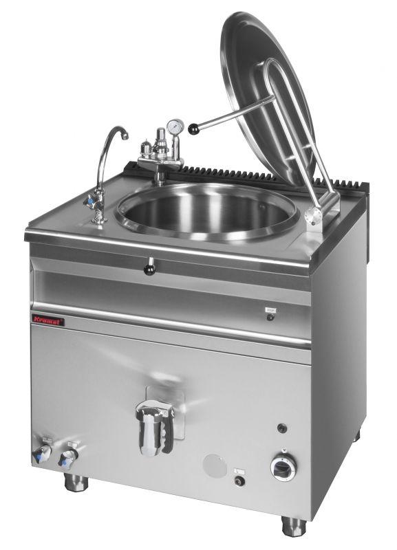 Plynový varný kotel KROMET 900.BGK-150.1 / nepřímý ohřev - 150 ltr