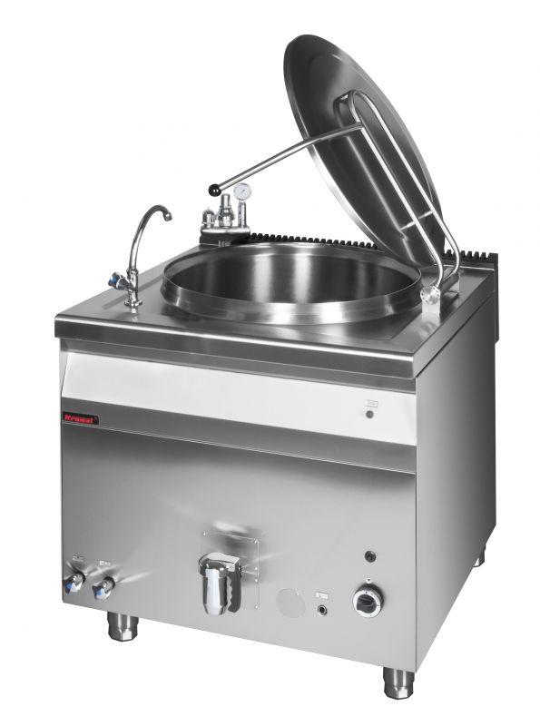Plynový varný kotel KROMET 900.BGK-200 / nepřímý ohřev - 200 ltr
