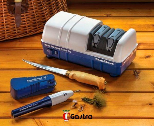 CC-710 BRUSIČ NOŽŮ 2-stupňový MARINE - pro RYBÁŘE Chefs Choice