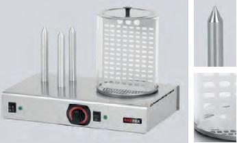 Redfox HD 3NK Hot-dog 3 trny + nádoba, třítrnový