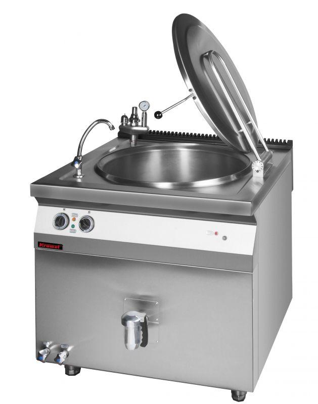 Elektický varný kotel KROMET 700.BEK-80.2 / 80 ltr. - nepřímý ohřev
