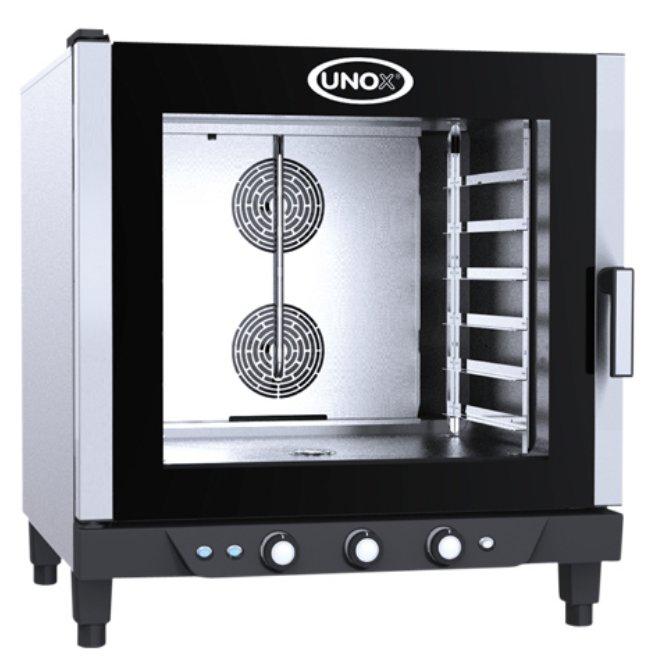 Plynová pekařská pec UNOX XB 613 G manual / roštů 6