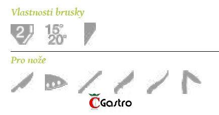 BRUSIČ NOŽŮ ASIJSKÝCH CC-1520 brousek, Chef's Choice, elektrický