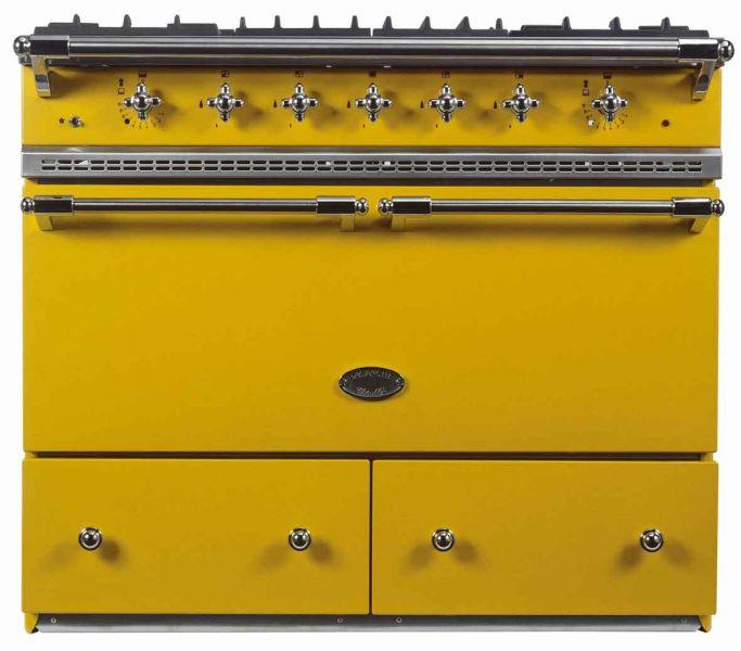 SPORÁK LACANCHE LG 1052 E CLASSIC CLUNY KOMBINOVANÝ, 5 hořáků, 2 elektrické statické trouby, RETRO